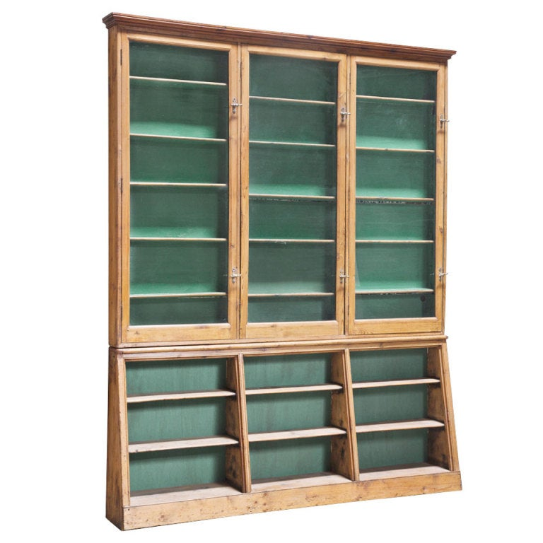 English Apothecary Cabinet For Sale