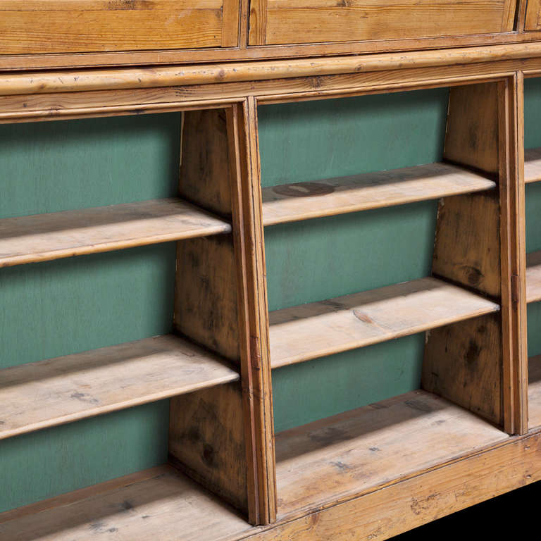 19th Century English Apothecary Cabinet For Sale
