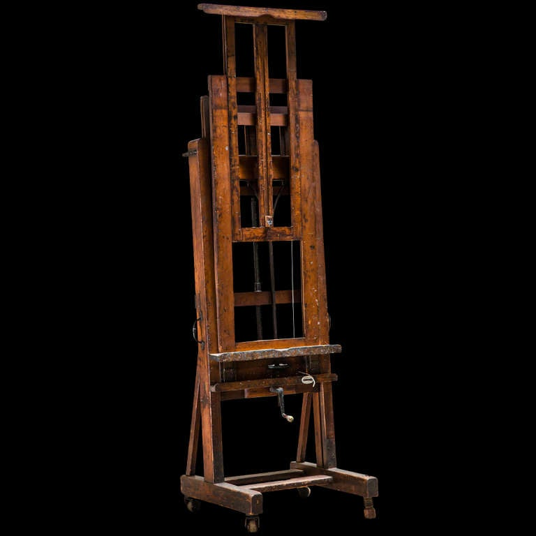 english 19th century studio easel at 1stdibs