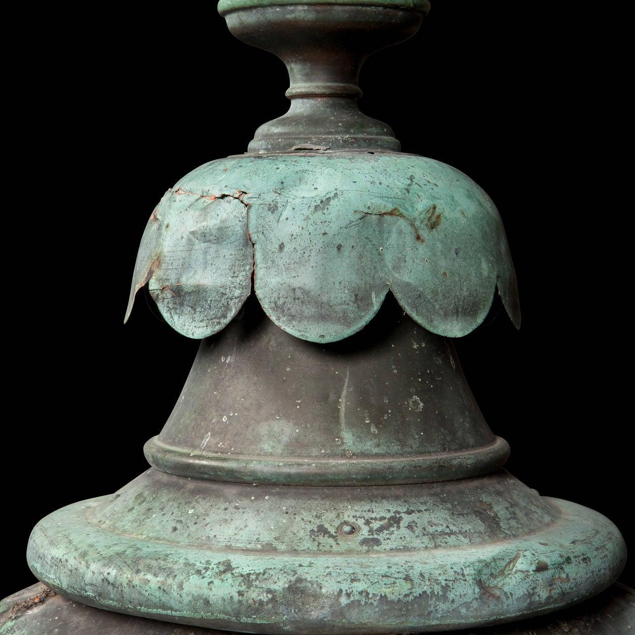 Verdigris Copper Outdoor Garden Lantern 4