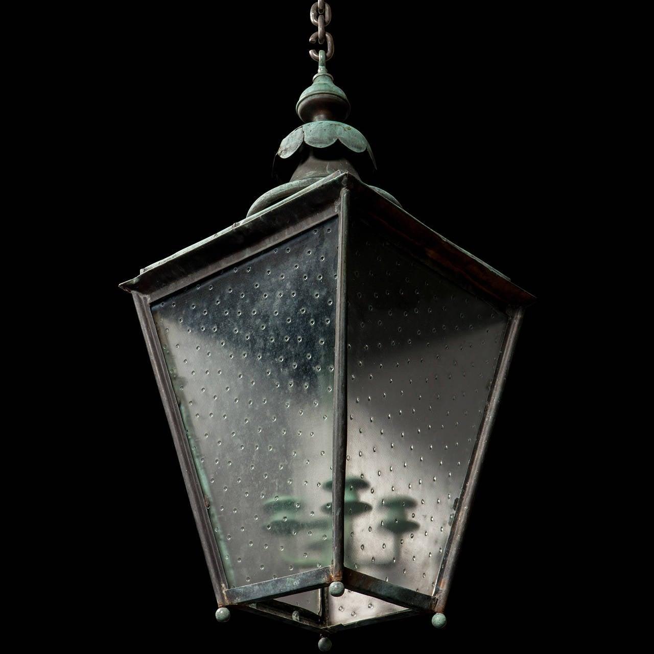 Verdigris Copper Outdoor Garden Lantern 5