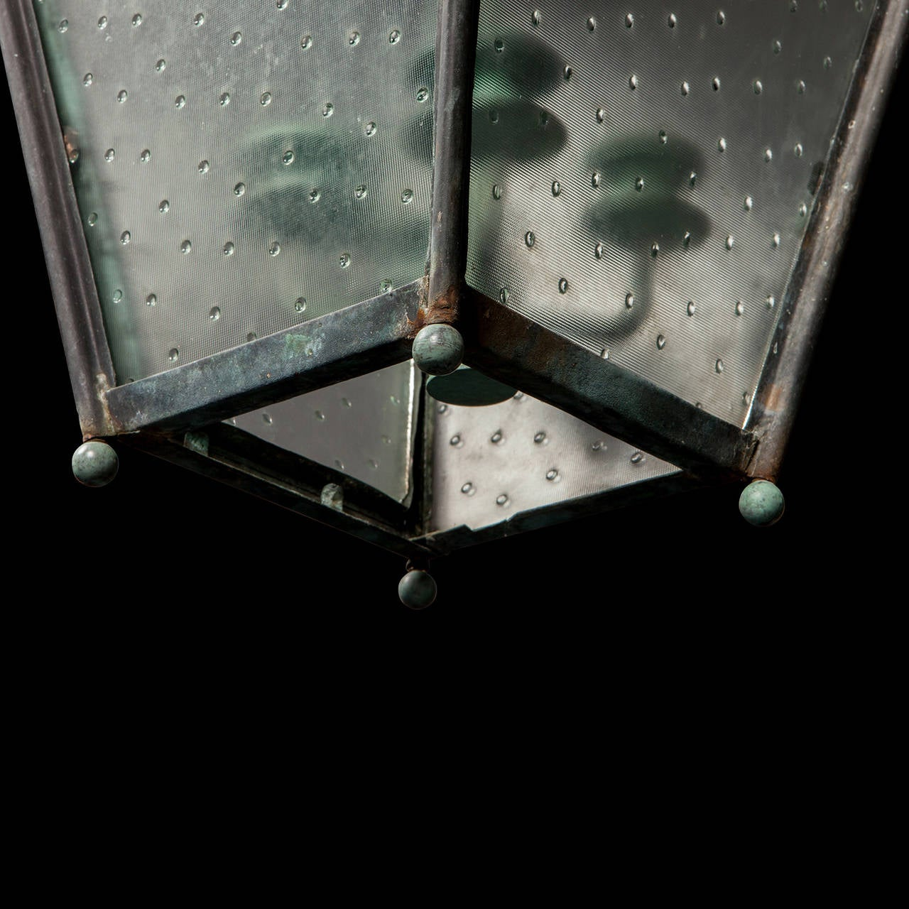 Verdigris Copper Outdoor Garden Lantern 7