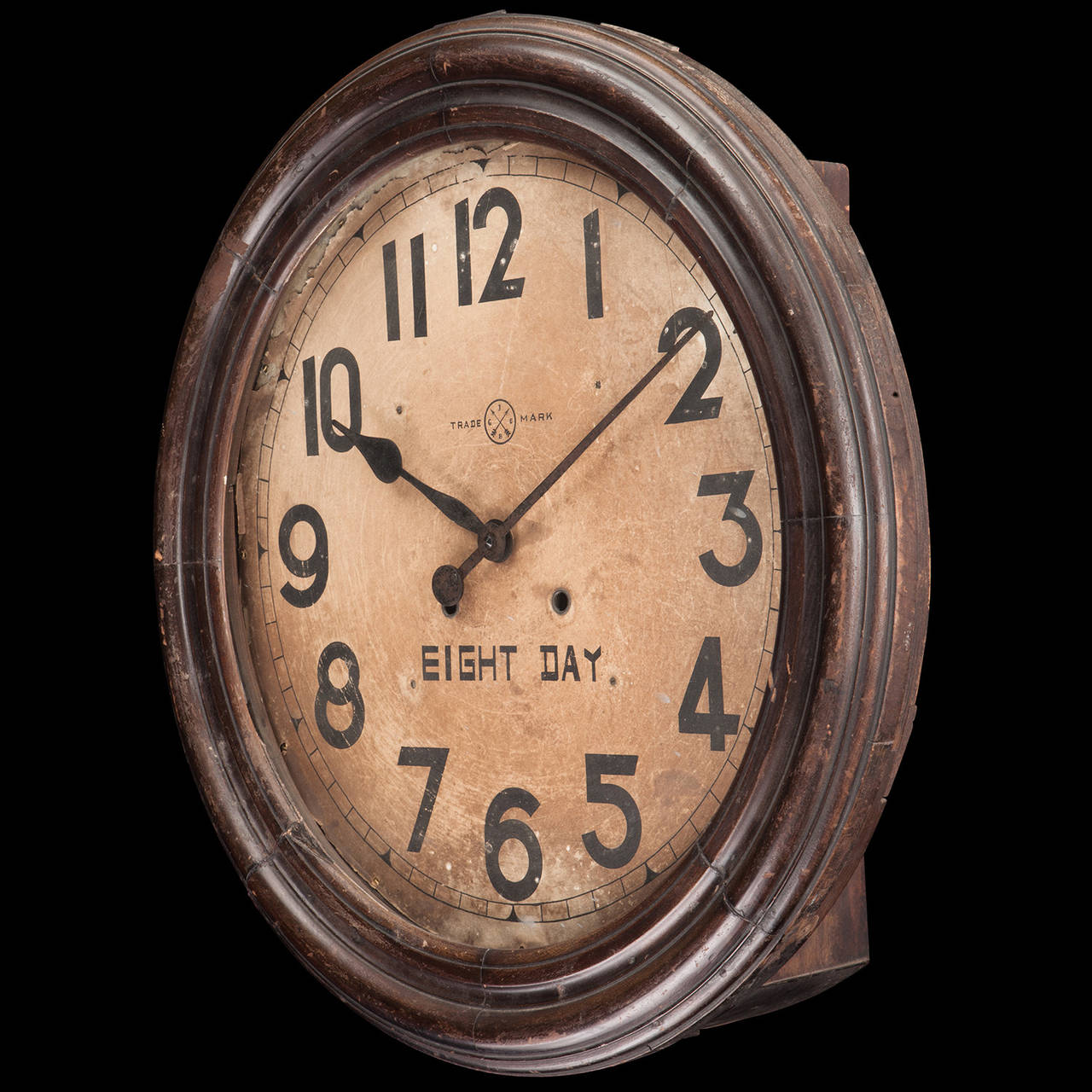 Edwardian Eight Day Wall Clock For Sale At 1stdibs