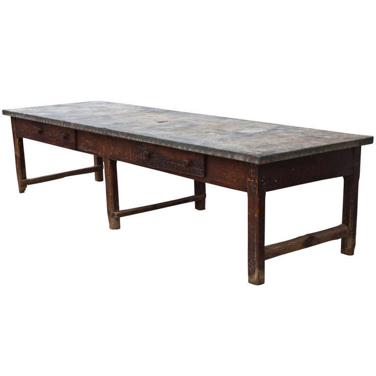 Primitive 18th Century Work Table At 1stdibs