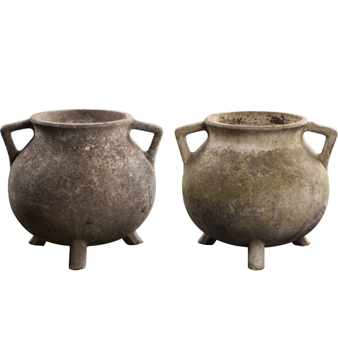 Concrete Garden Pots Concrete garden pots at 1stdibs concrete garden pots for sale workwithnaturefo