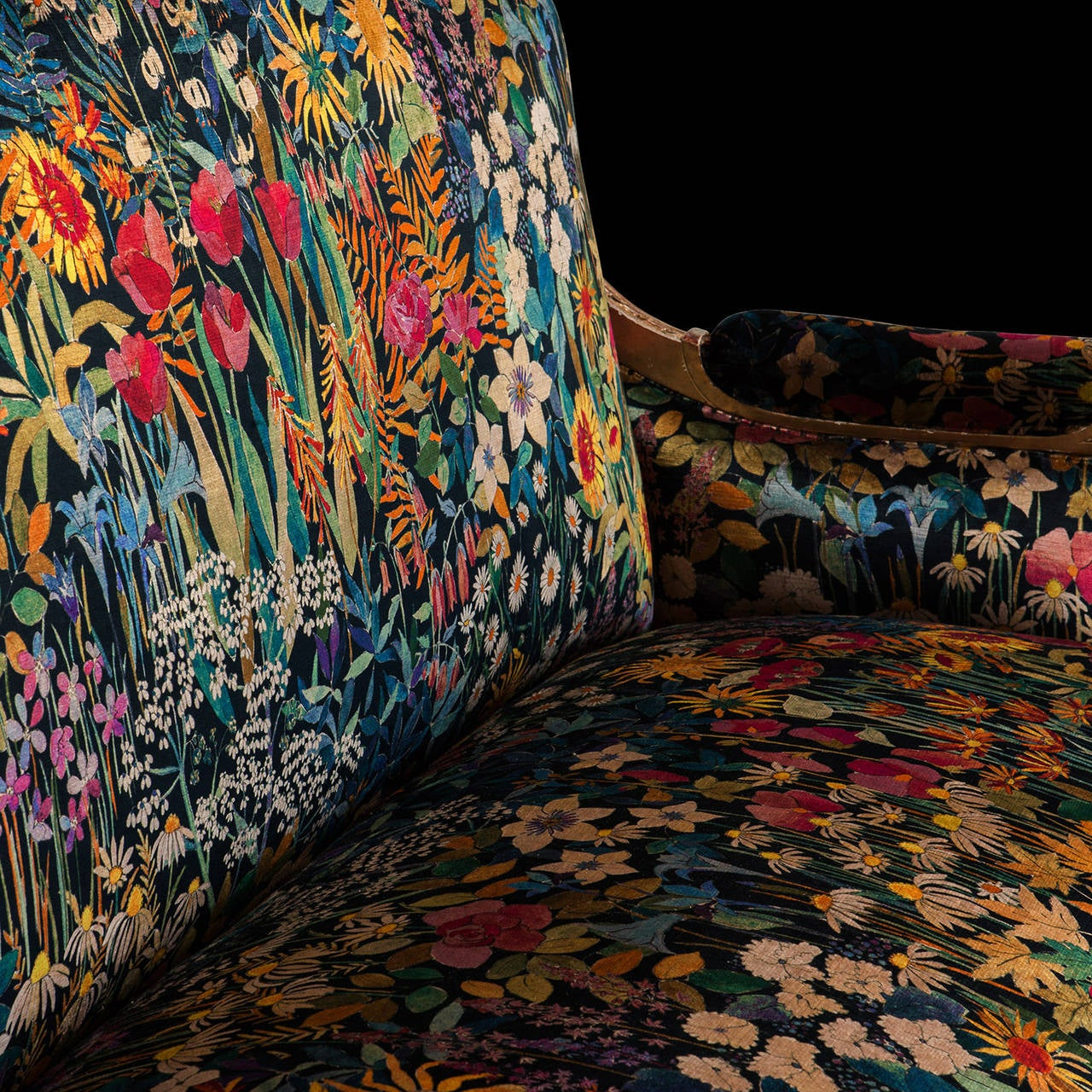 Gilded Sofa 4