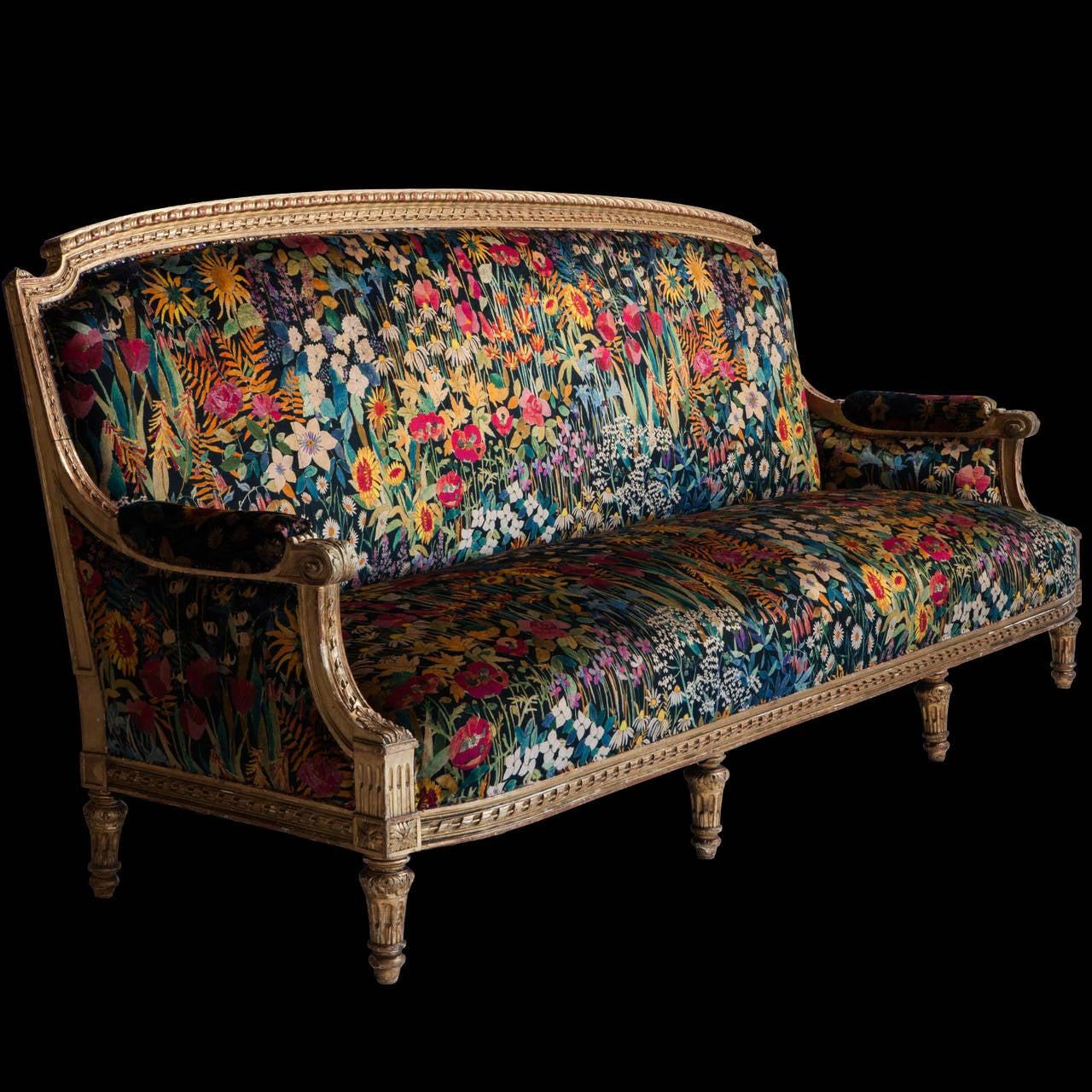 Gilded Sofa 9