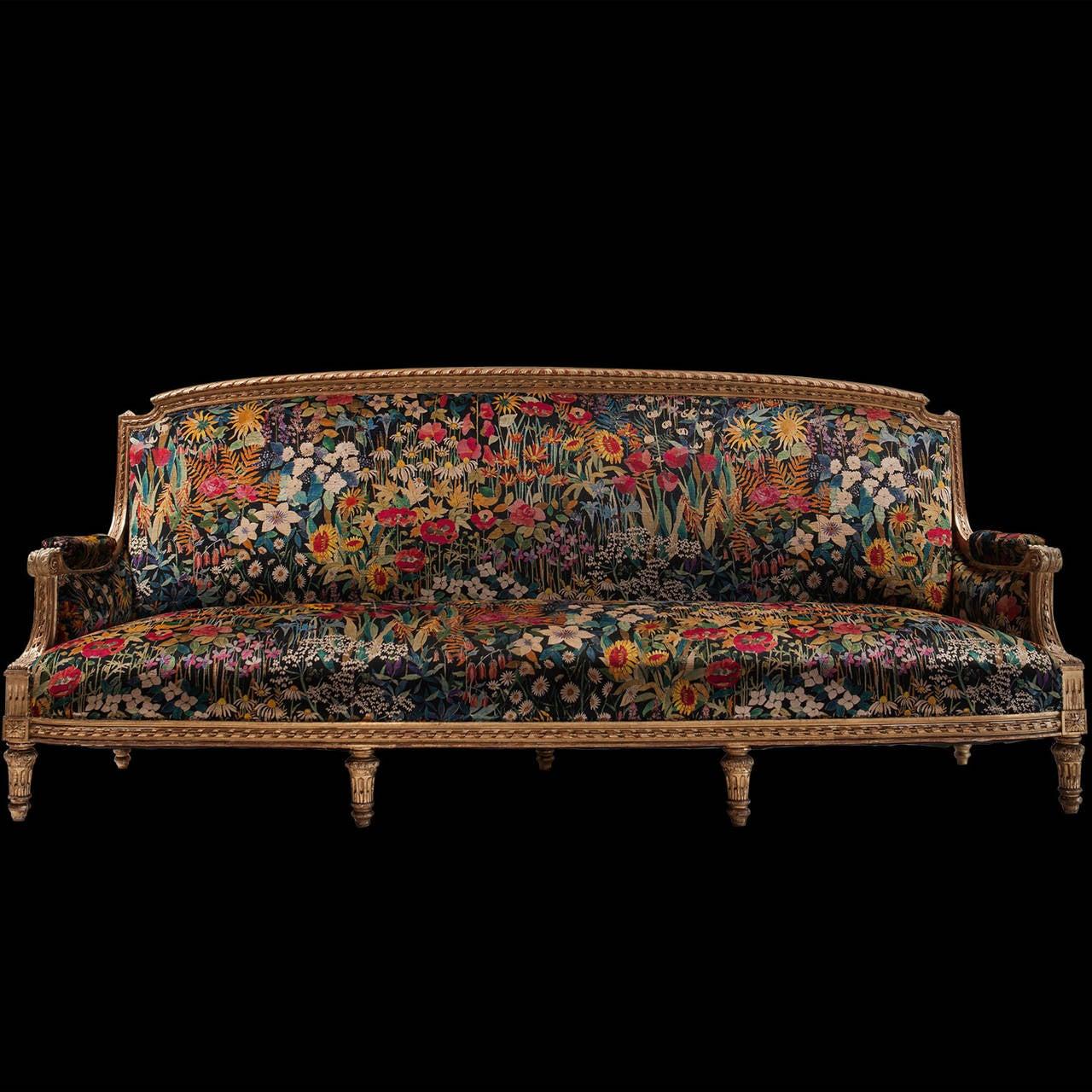 Gilded Sofa 2
