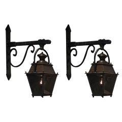 Cast Iron Hanging Lantern