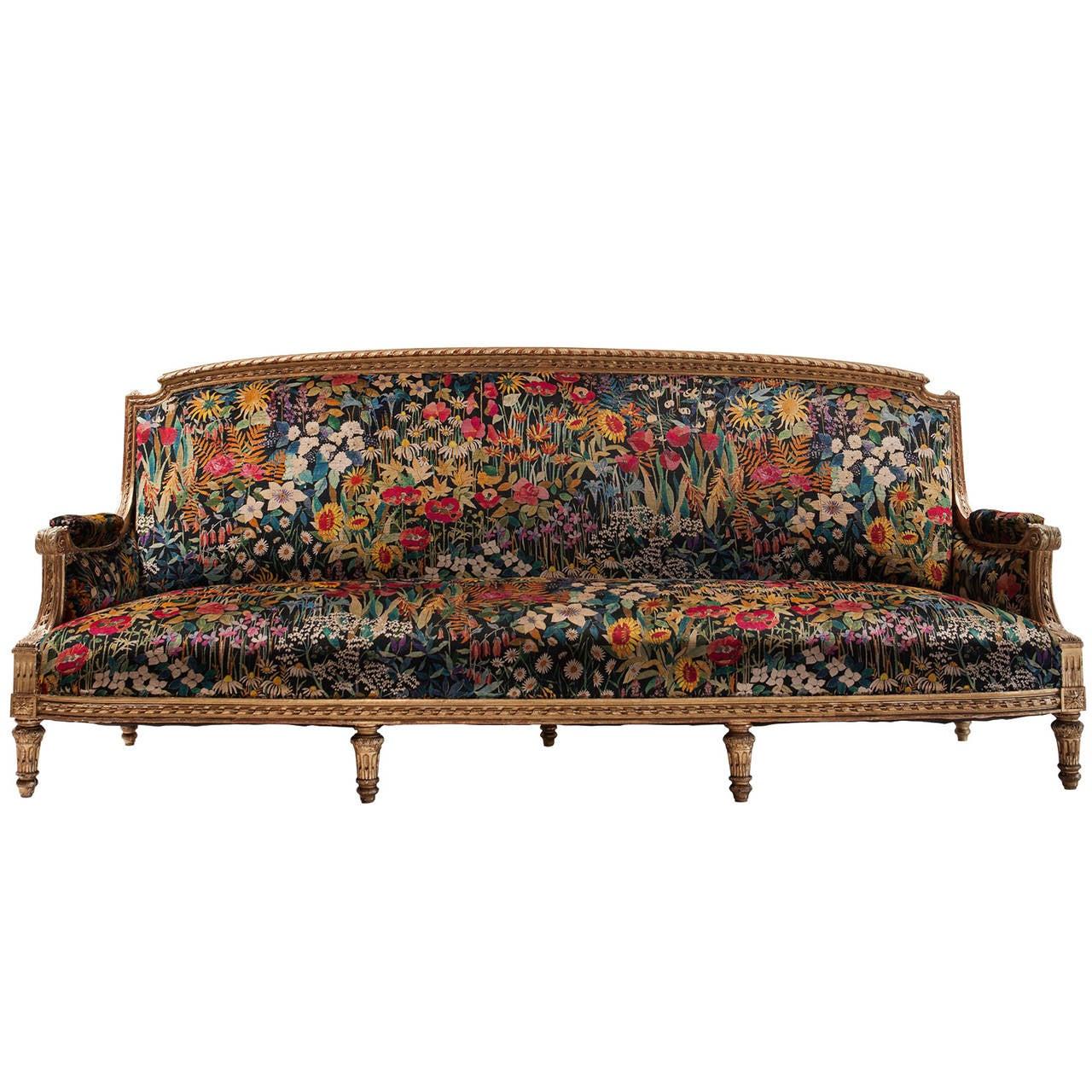 Gilded Sofa 1