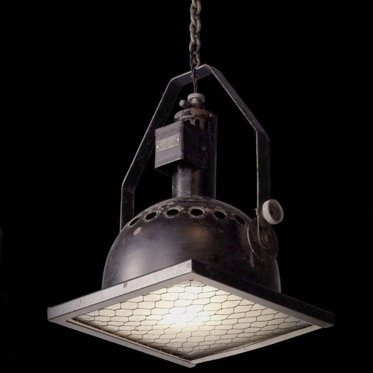 Industrial Photographers Overhead Light 2