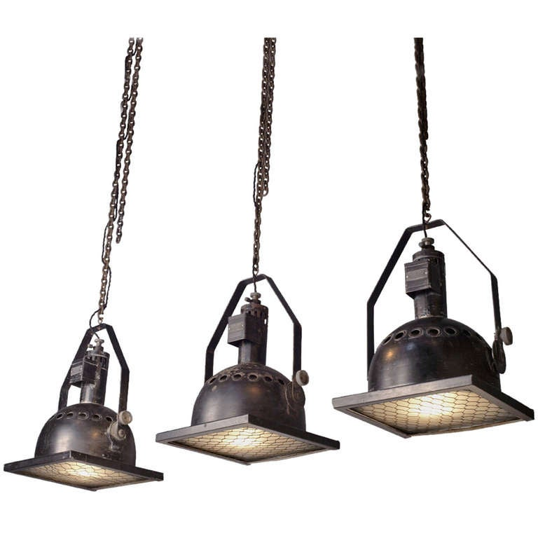 Industrial Photographers Overhead Light 1