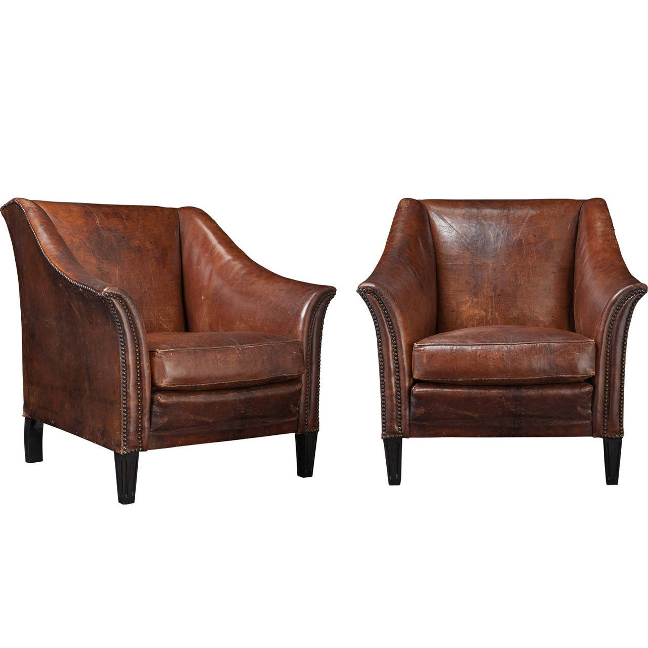 Modern leather club chair home design for Modern leather club chairs