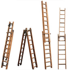 Collection of Salesman Sample Ladders