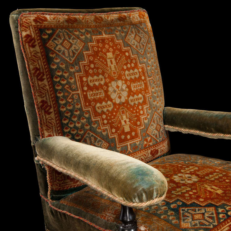 Victorian Carpet Chair At 1stdibs