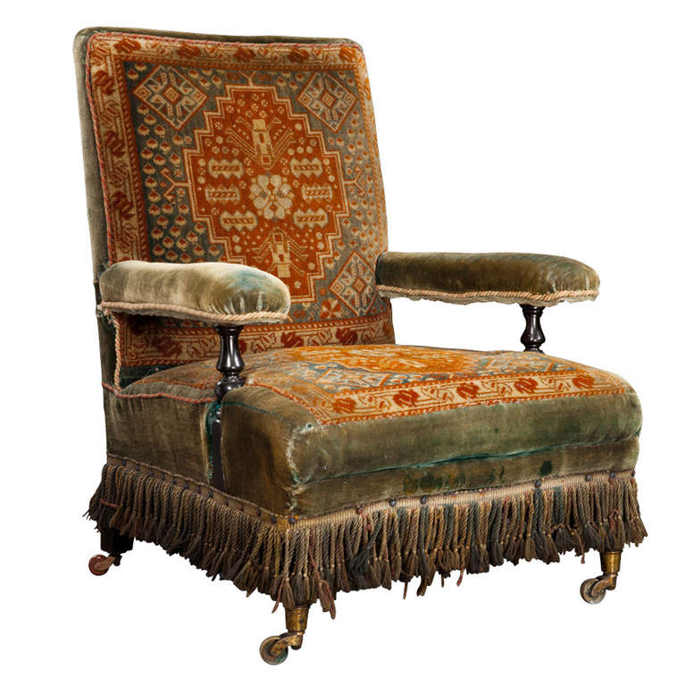 Victorian Carpet Chair at 1stdibs