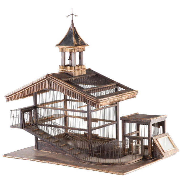 Hamster bird cage at 1stdibs