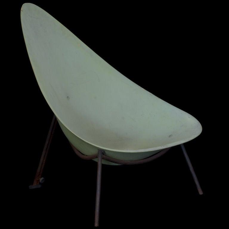 Pierre Guariche Fiberglass Chair at 1stdibs