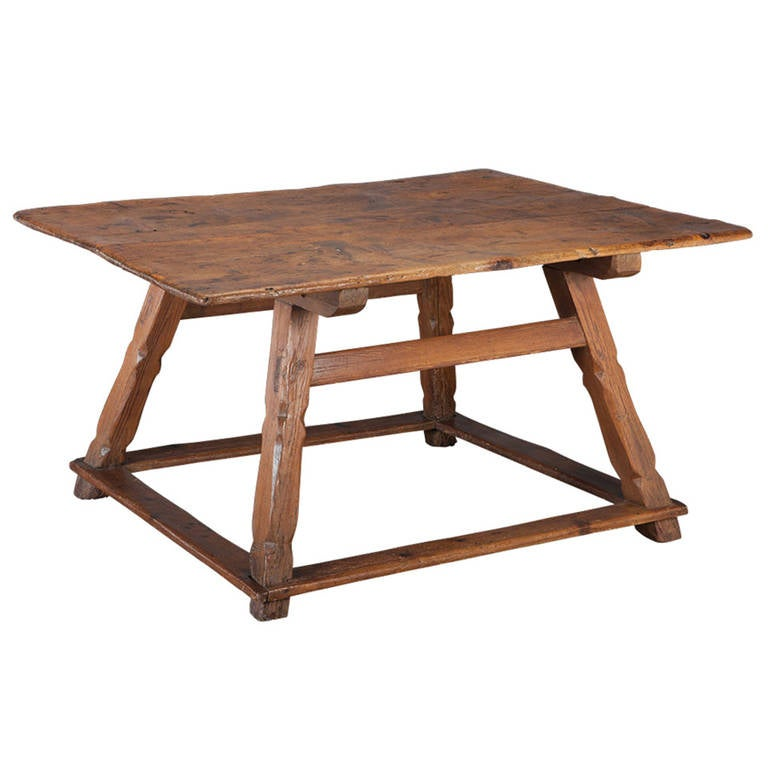 Primitive Center Table At 1stdibs