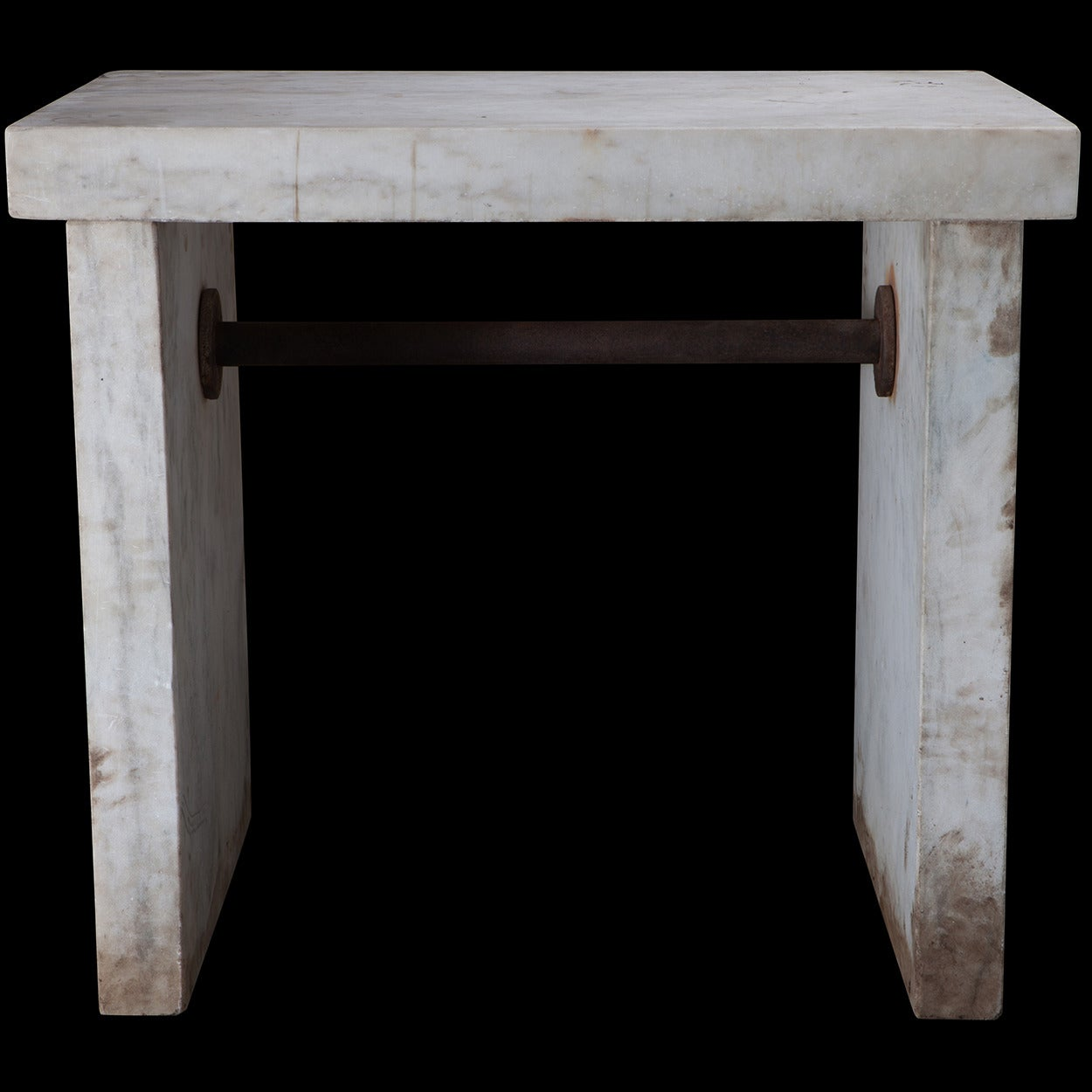 White Marble Lab Table At 1stdibs