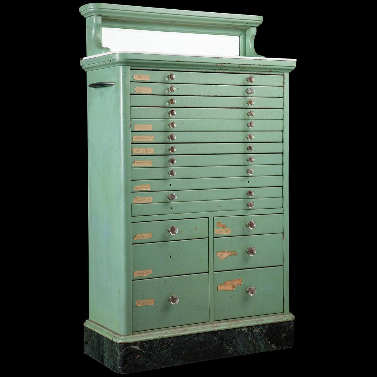 dental cabinet at 1stdibs. Black Bedroom Furniture Sets. Home Design Ideas