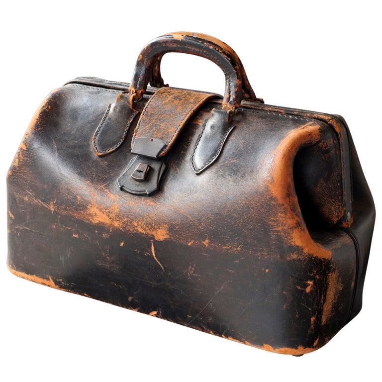 4cfa8feb434c Leather Medical Bag at 1stdibs