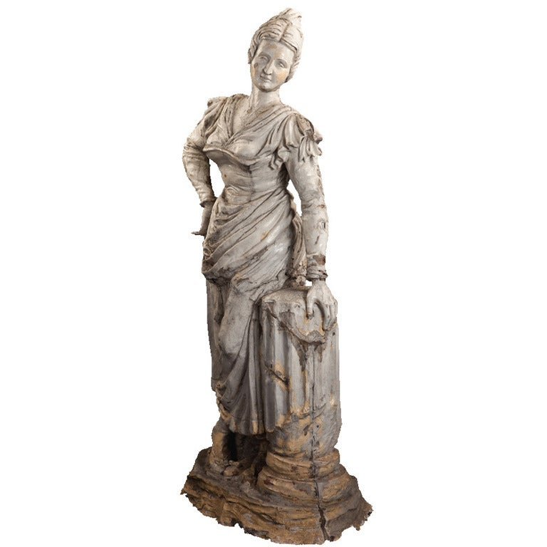 life sized garden statue for sale at 1stdibs