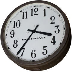Double Face IBM Clock