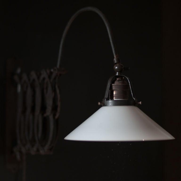 Wall Mounted Scissor Lamp : Industrial Wall Mount Scissor Lamp image 3