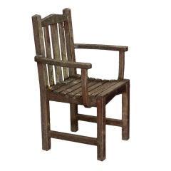 Set of Six Garden Chairs