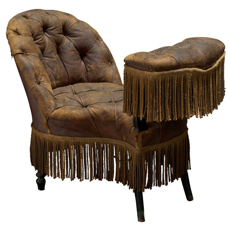 Victorian Smoking Chair at 1stdibs