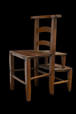 Uniquely Formed Chair Stepping Stool At 1stdibs