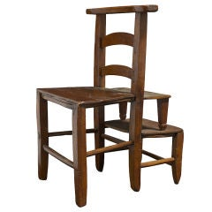 Uniquely Formed Chair / Stepping Stool