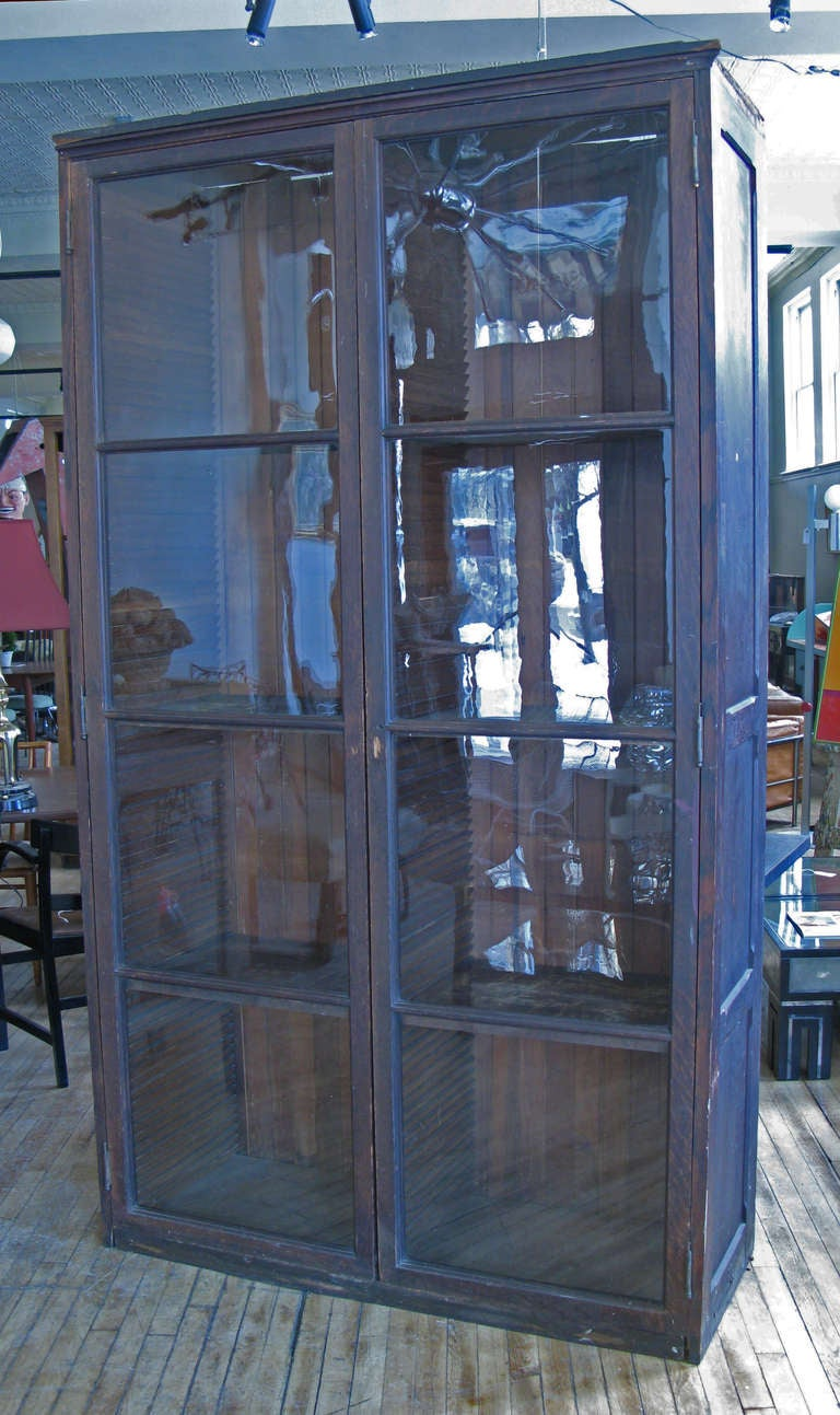 Antique Mercantile Display Cabinet at 1stdibs