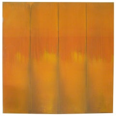 Monumental Color Field Oil on Canvas by Jim Stewart