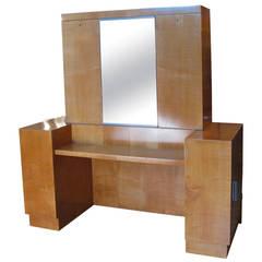 Antique Art Deco Drop Front Desk