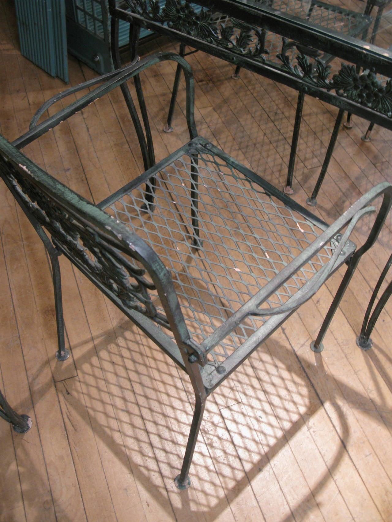 furniture 1950 s wrought iron eBay