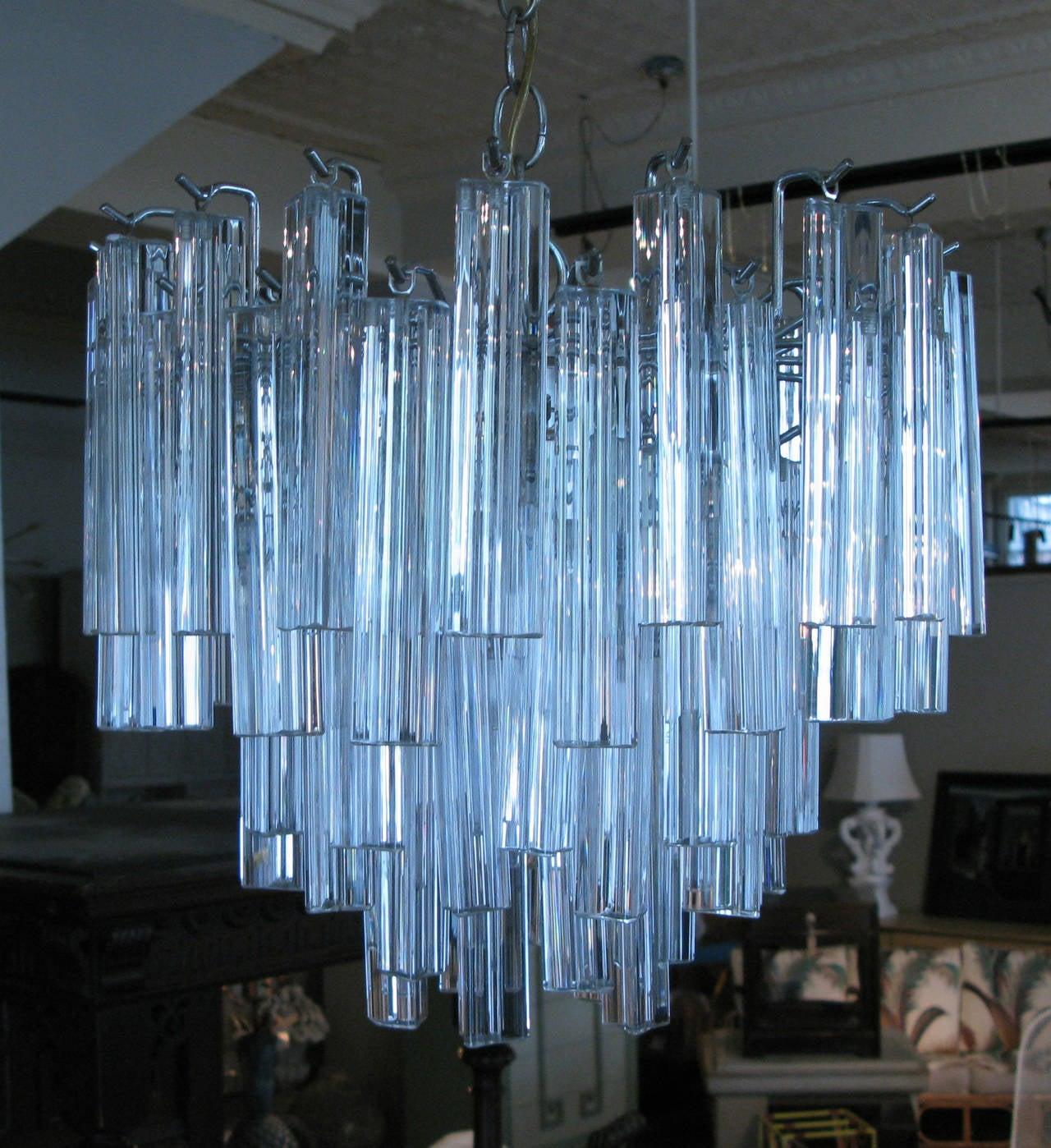 Modern Italian Murano Glass Chandelier By Camer At 1stdibs