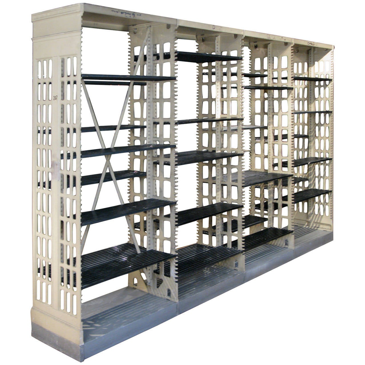within and for large industrial pertaining unit gardens to motivate bookcase prepare bookcases plan lena mecox shelving bookshelf iron wood reclaimed metal shelves