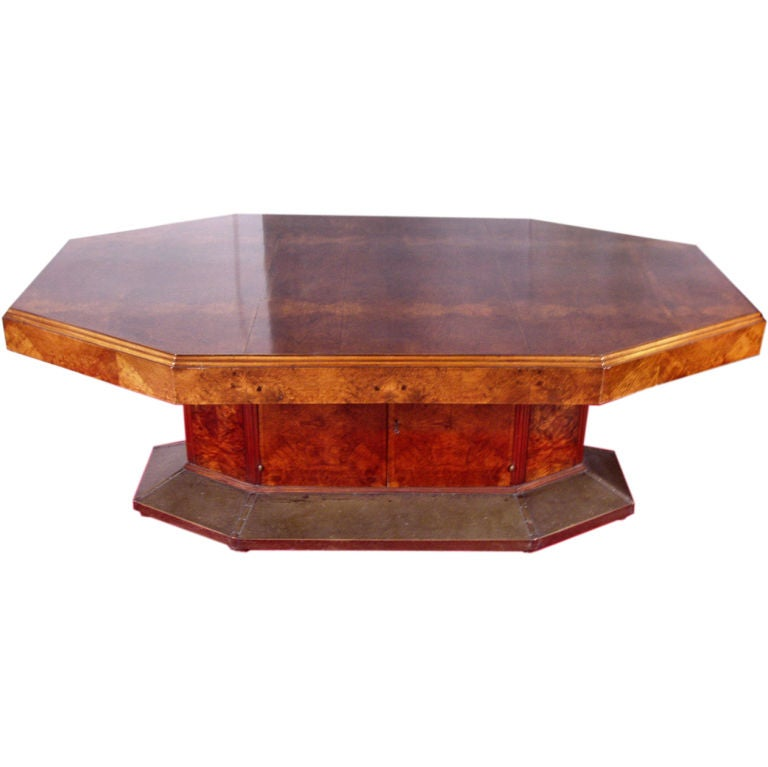 Antique Austrian Secession Burled Dining Table at 1stdibs : 8791127656449811 from www.1stdibs.com size 768 x 767 jpeg 37kB