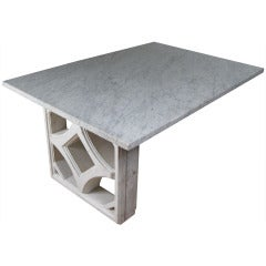 Marble Desk by Edward Durell Stone