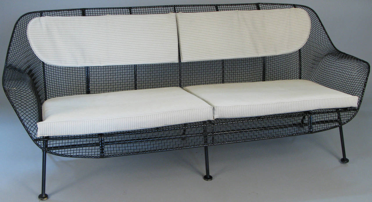 A Rare Example Of Russell Woodardu0027s Iconic Sculptura Long Sofa, Four Seat,  In