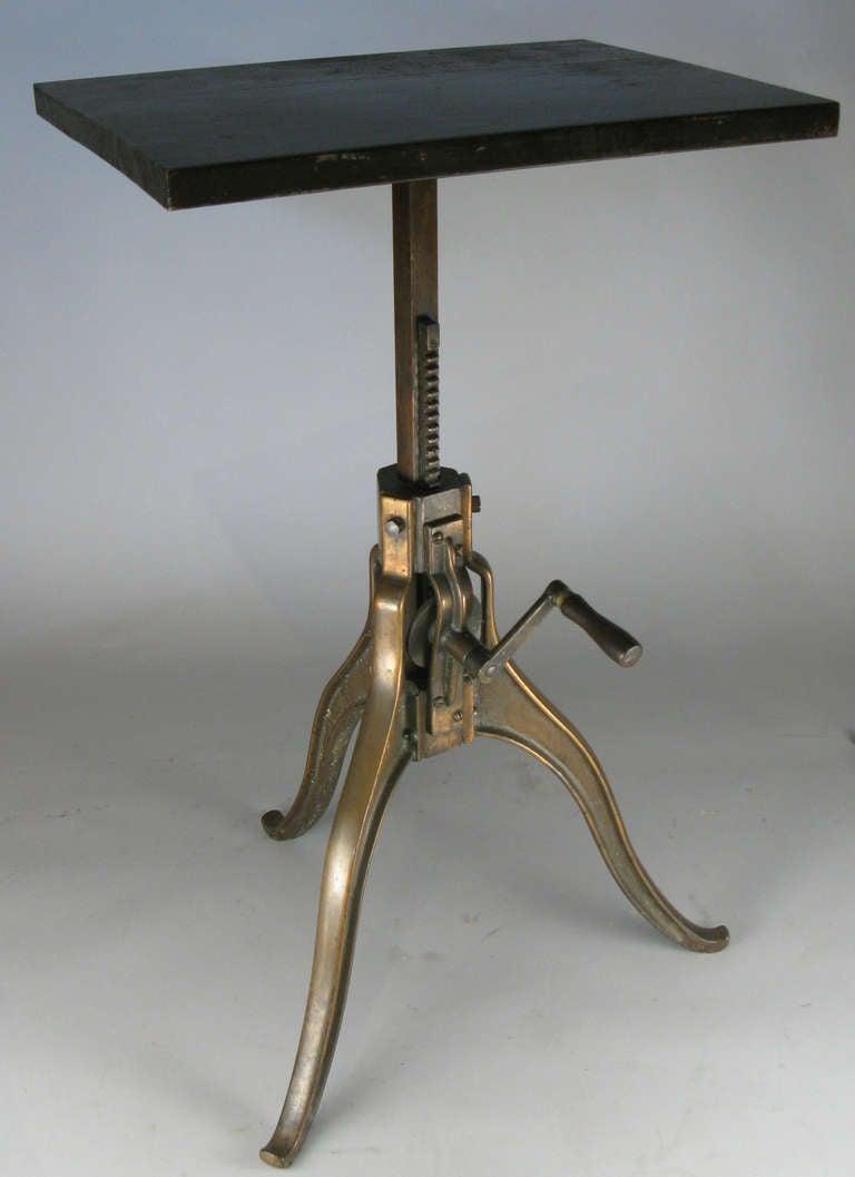 Antique Adjustable Bronze Sculpture Pedestal At 1stdibs