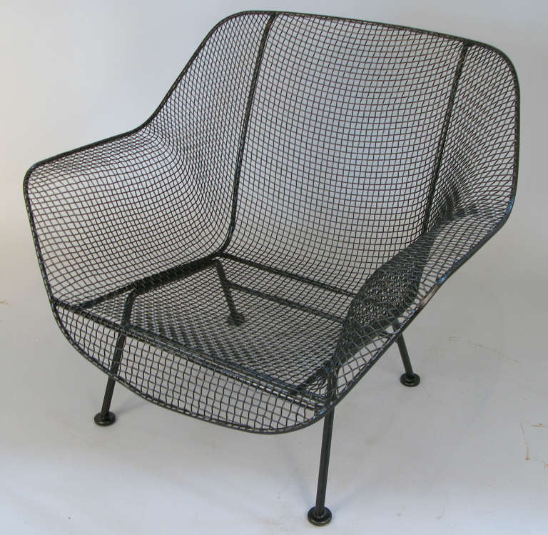 Pair of 1950 39 s 39 sculptura 39 garden lounge chairs by russell for 1950 chaise lounge