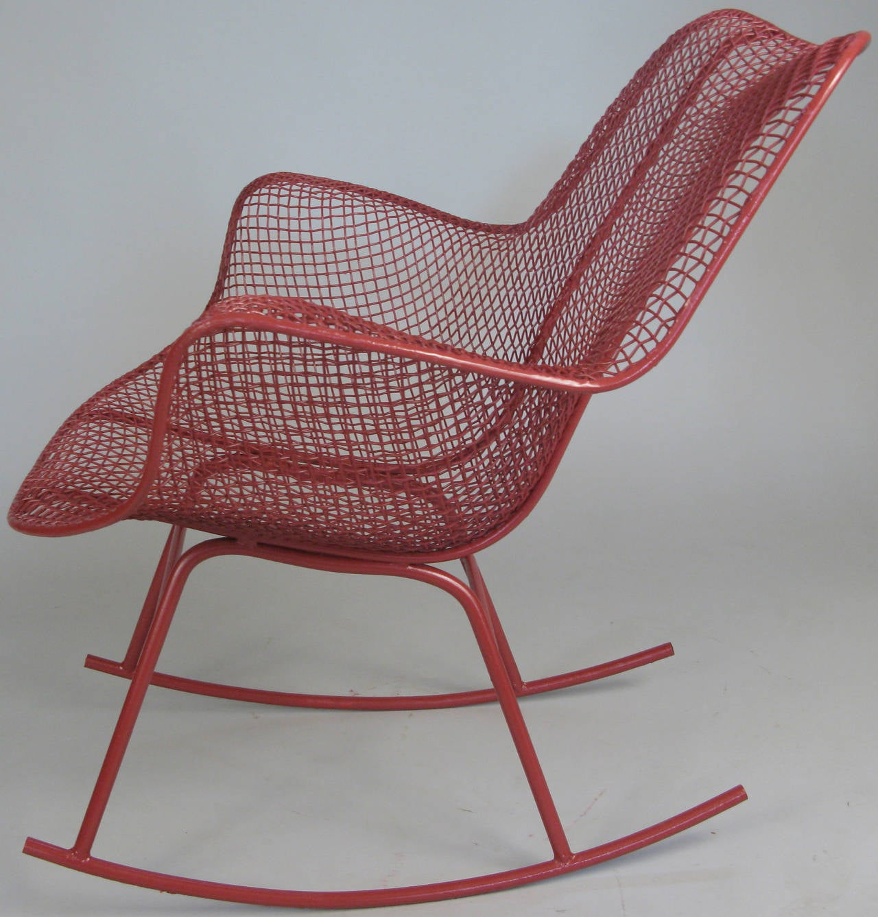 Sculptura Rocking Chairs By Russell Woodard At 1stdibs. Full resolution  pic, nominally Width 1280 Height 1337 pixels, pic with #4D2121.