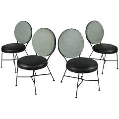 Set of Four 1950s Modern Chairs by Troy Sunshade