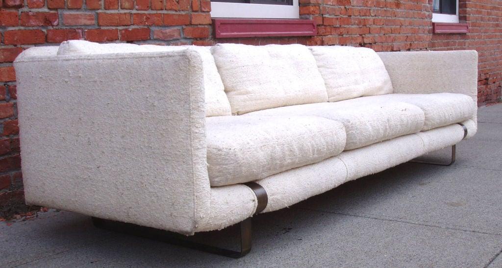Mid-Century Modern Tuxedo Sofa 2