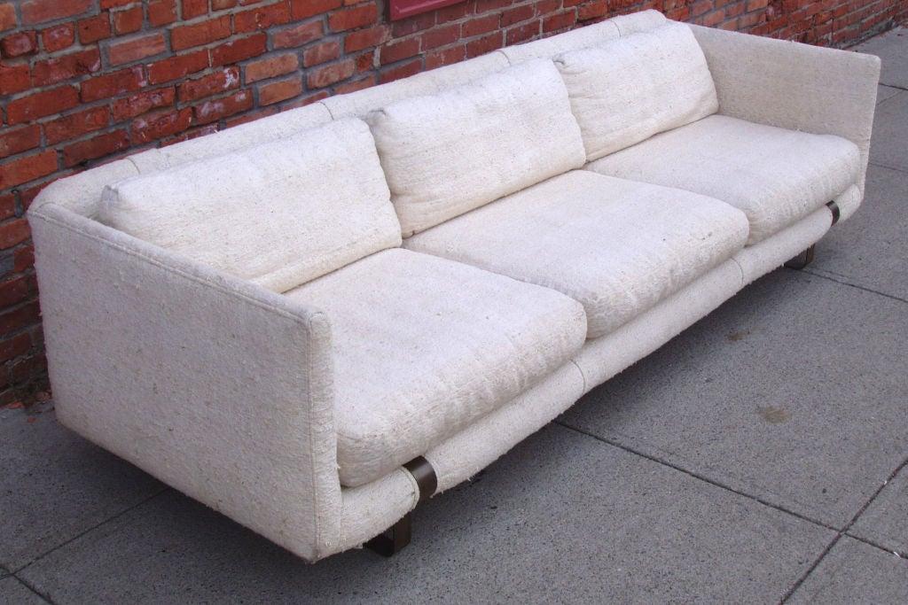 Mid-Century Modern Tuxedo Sofa 3