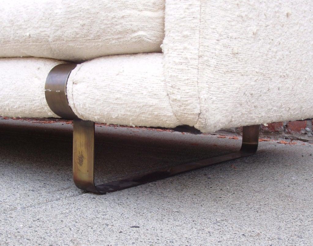Mid-Century Modern Tuxedo Sofa 5
