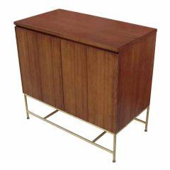 Modern Brass Base Cabinet by Paul McCobb
